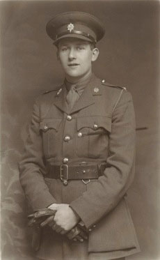Harry Elliott when commissioned in 1940.